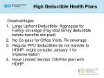 high deductible health plans5