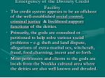 emergency of the divinity credit facility