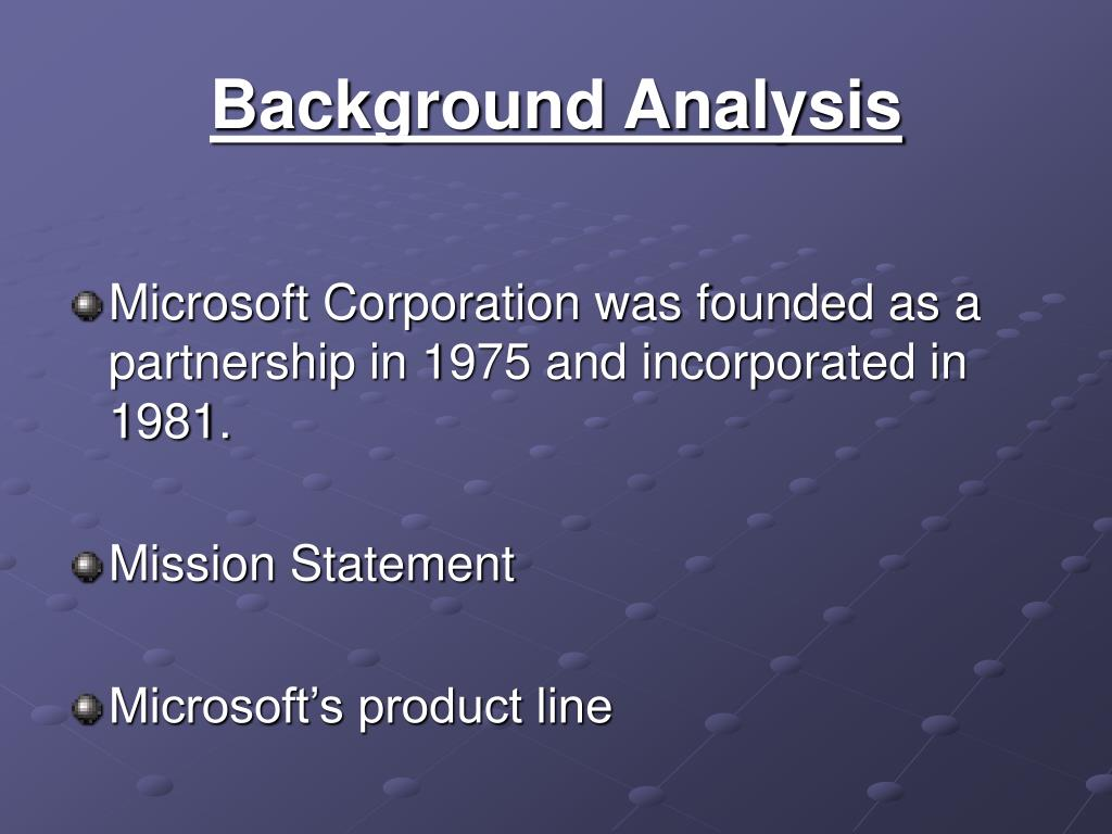 mission statement the microsoft corporation