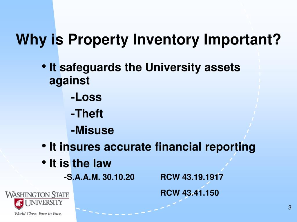 Why is Property Inventory Important?