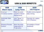 usn dod benefits