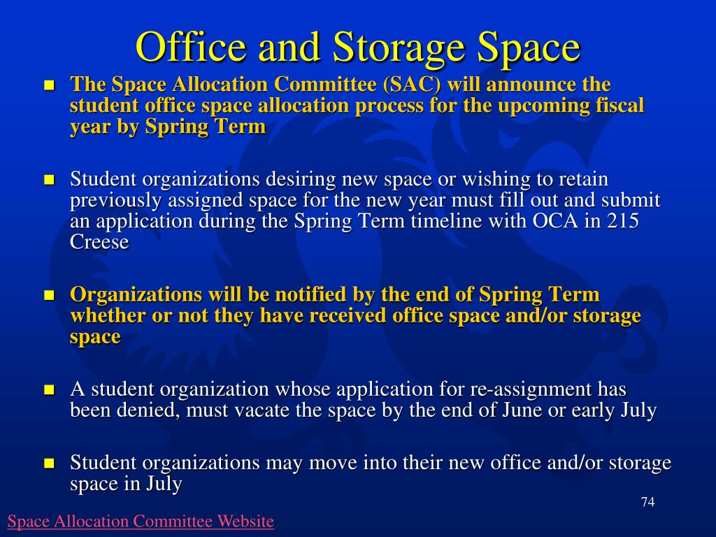 Office and Storage Space