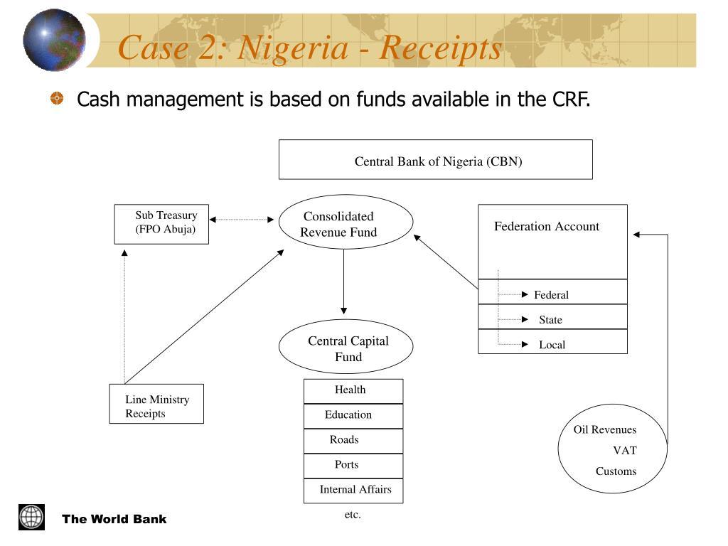 Case 2: Nigeria - Receipts
