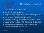 cd network services