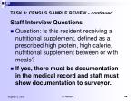 task 4 census sample review continued38