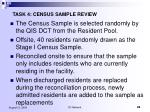 task 4 census sample review