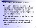 task 5 dining observation continued53