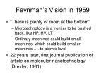 feynman s vision in 1959