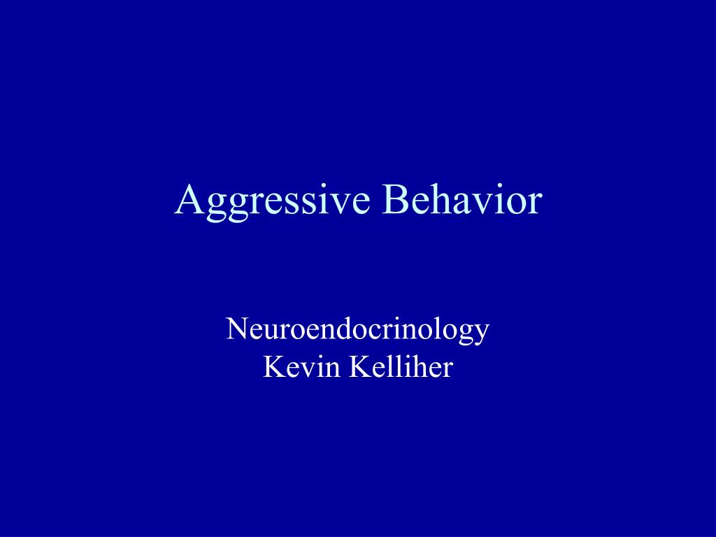 aggressive behavior l.