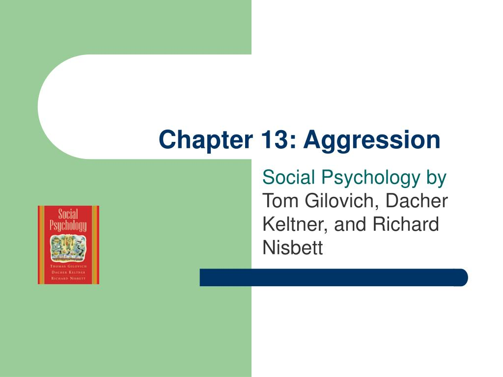 chapter 13 aggression l.