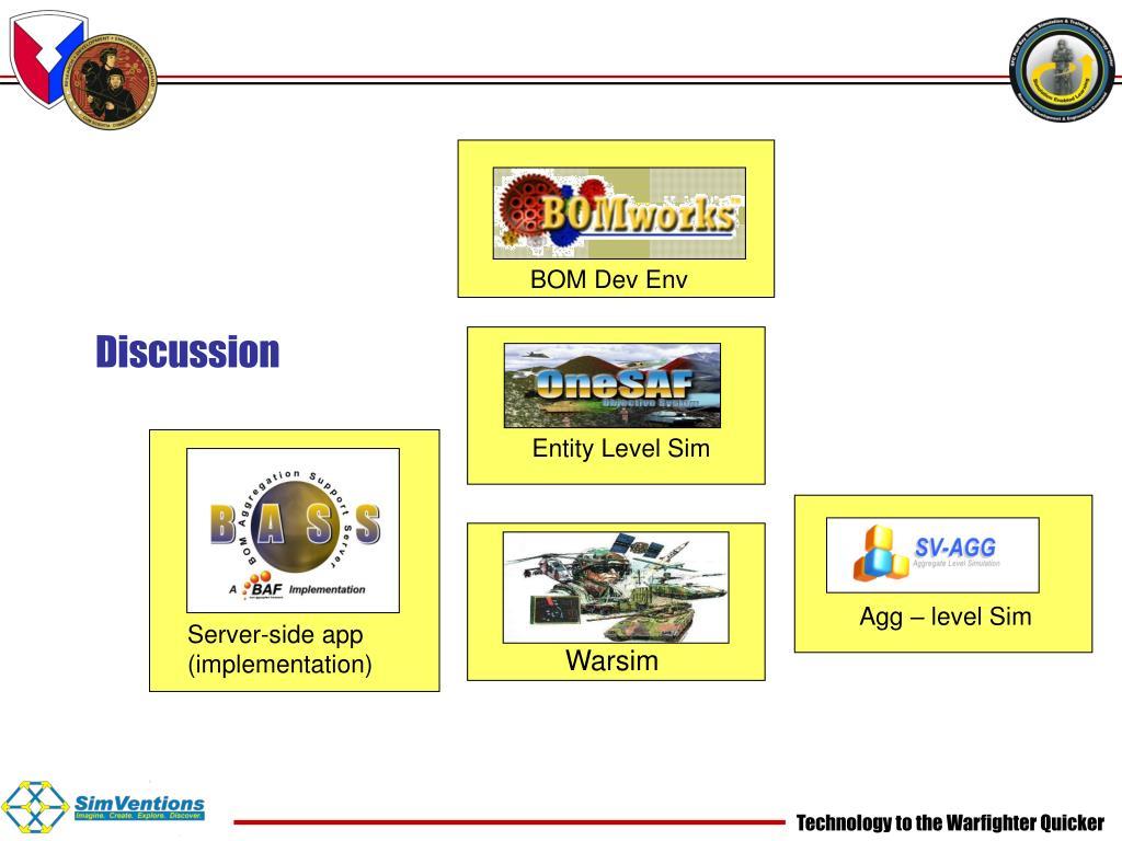 BOM Dev Env