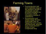 farming towns