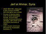 jerf el ahmar syria