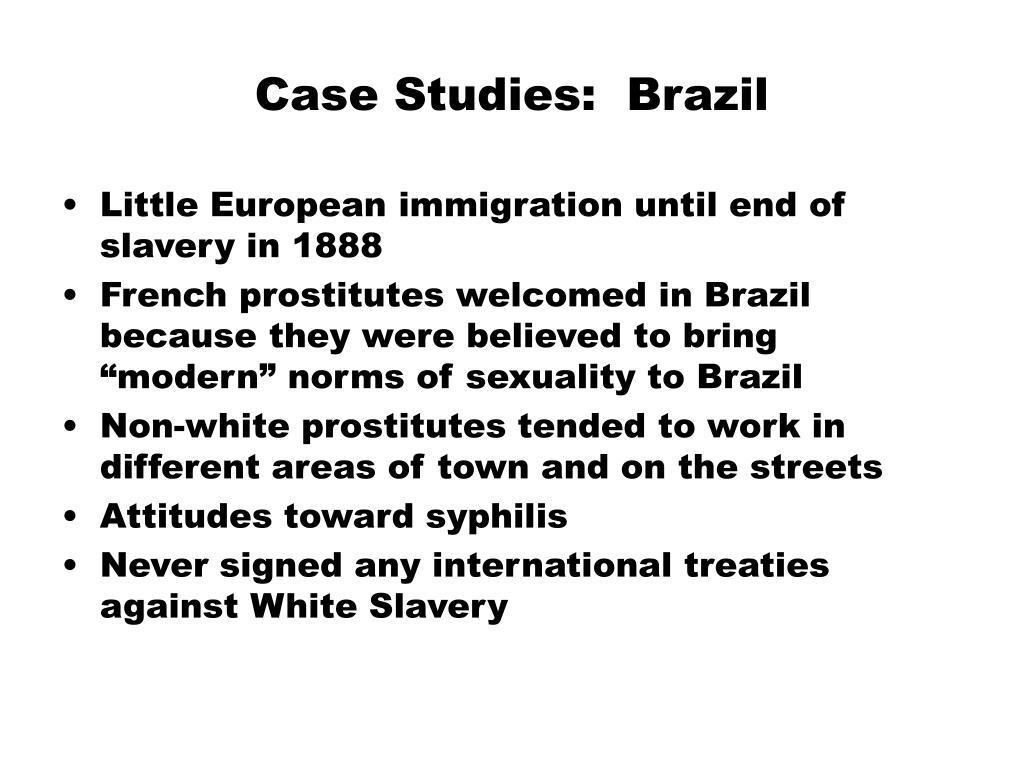 Case Studies:  Brazil
