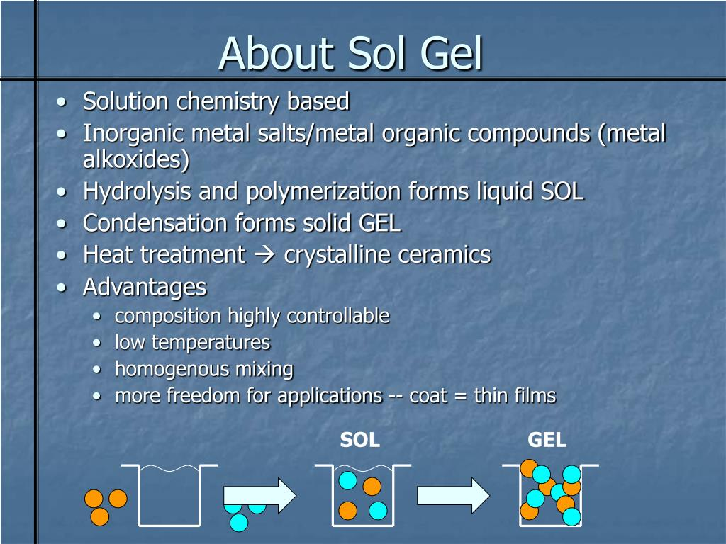 About Sol Gel