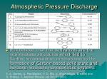 atmospheric pressure discharge4