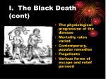 i the black death cont