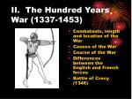 ii the hundred years war 1337 1453