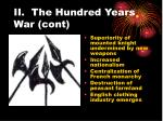 ii the hundred years war cont12