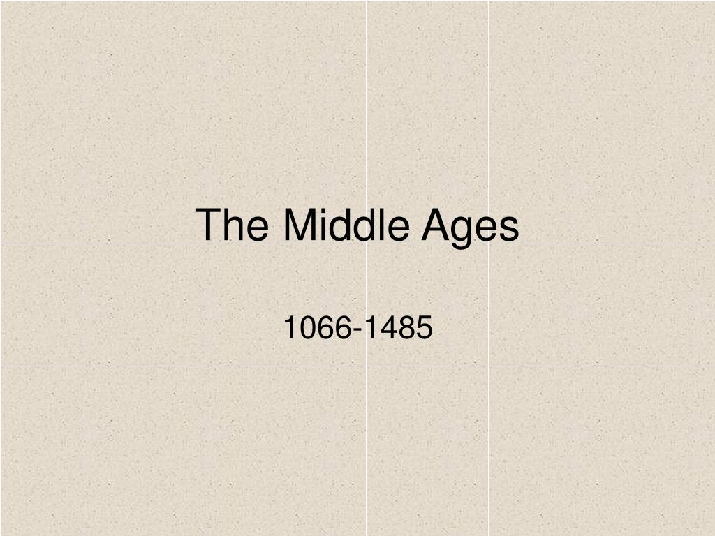 the middle ages l.