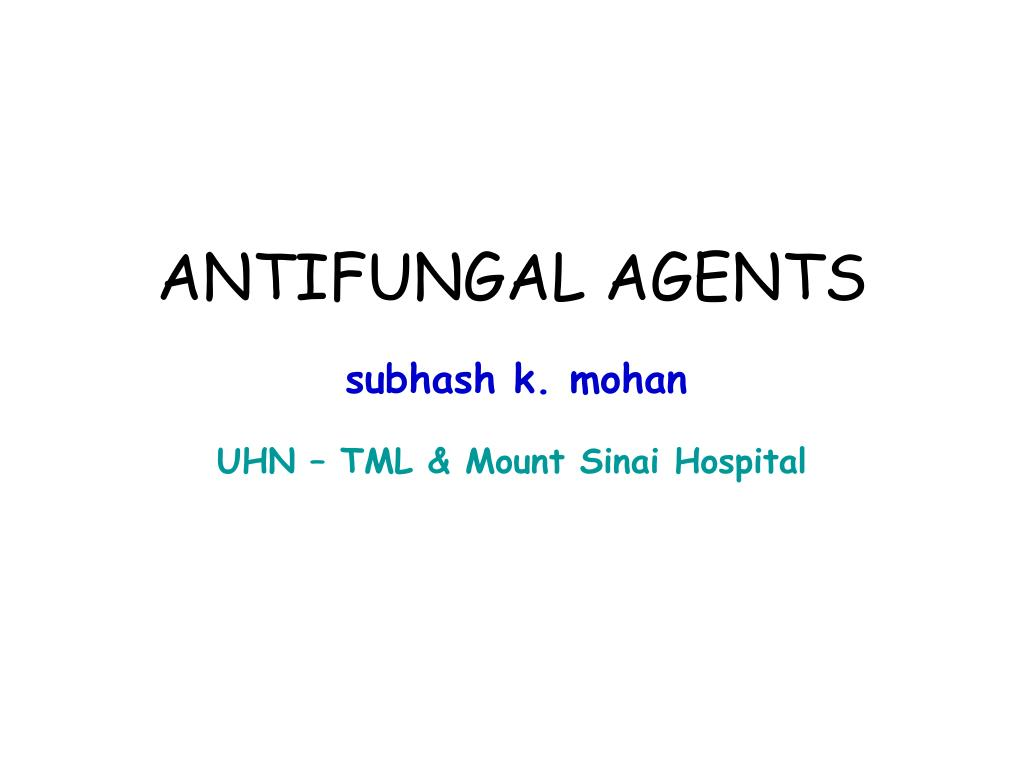 antifungal agents l.