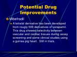 potential drug improvements