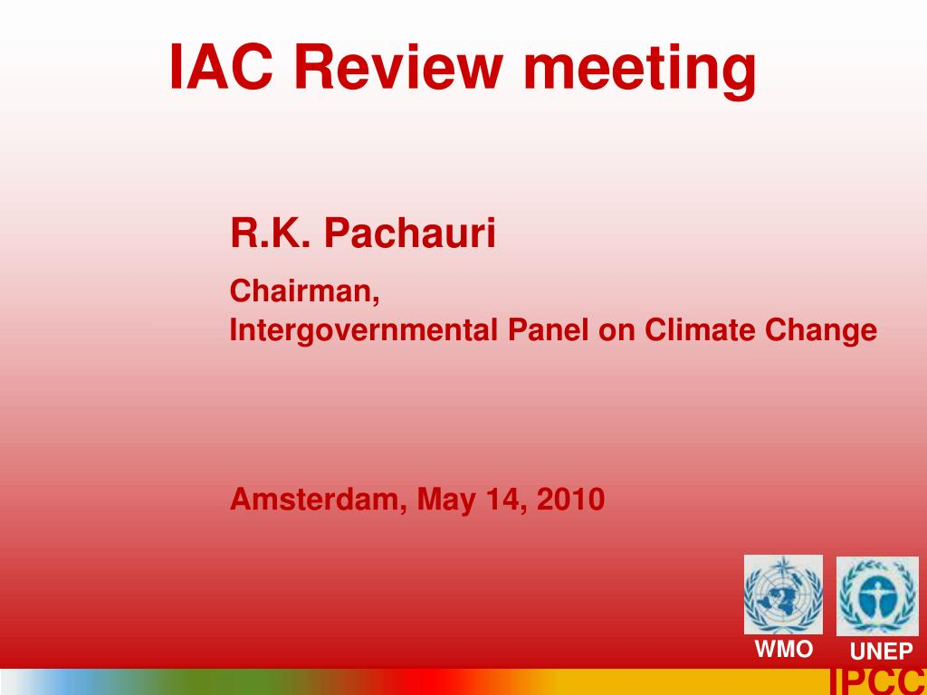 iac review meeting l.