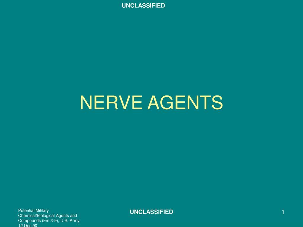 nerve agents l.