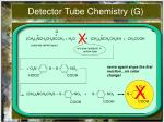 detector tube chemistry g