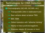 technologies for cwa detection6
