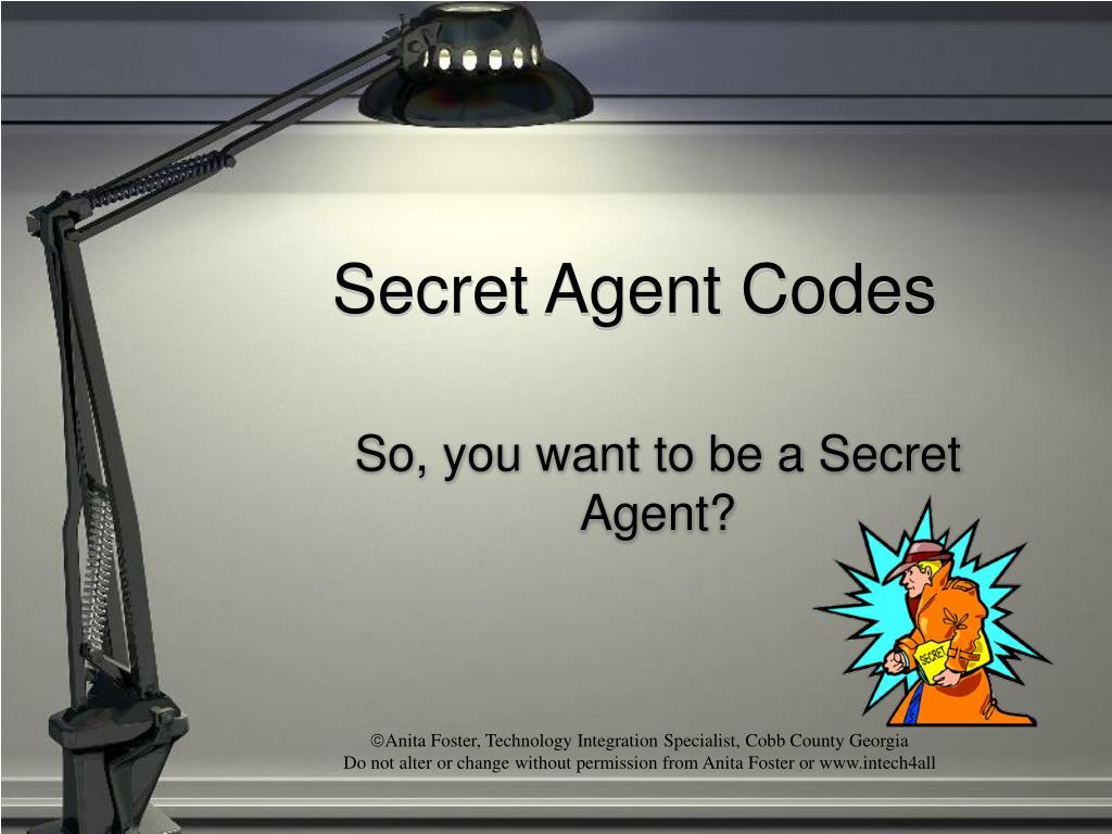 secret agent codes l.