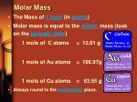 molar mass16