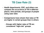 tb case rate 3