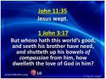 john 11 35 jesus wept