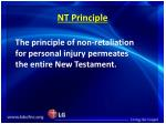 nt principle