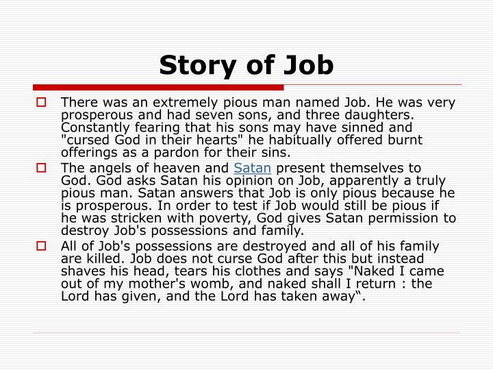 Story of Job