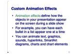 custom animation effects