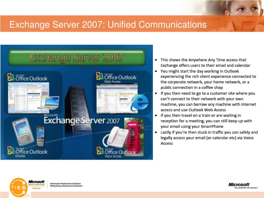 Exchange Server 2007: Unified Communications