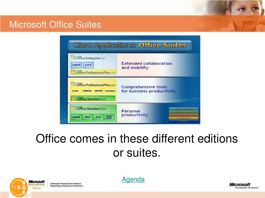 Microsoft Office Suites