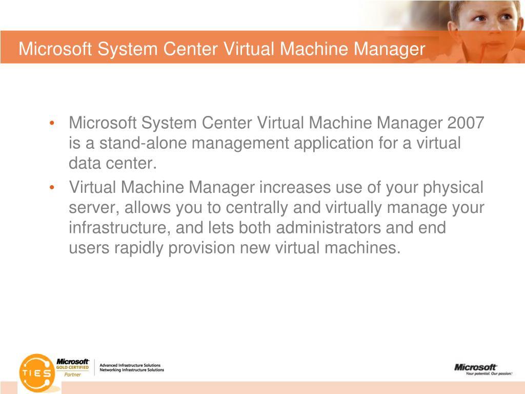 Microsoft System Center Virtual Machine Manager