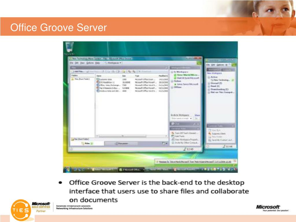 Office Groove Server