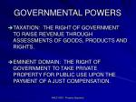 governmental powers