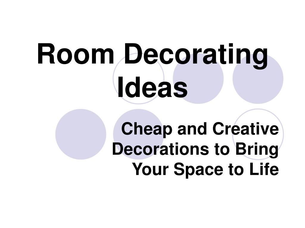 room decorating ideas l.
