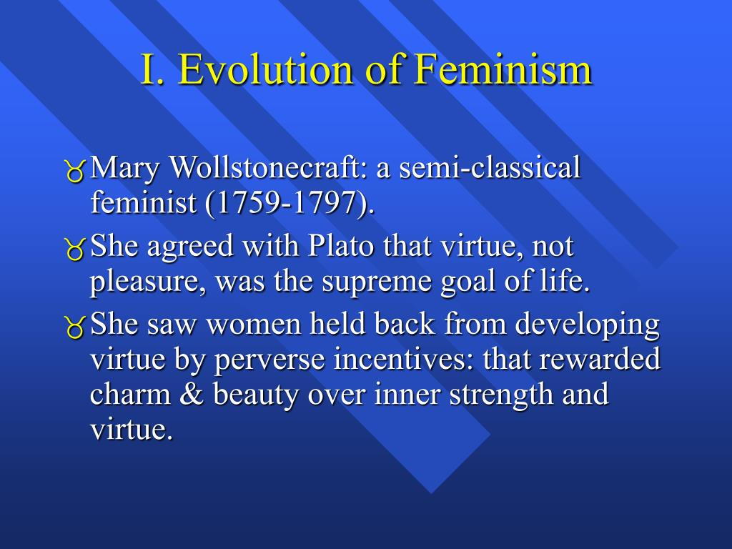 I. Evolution of Feminism