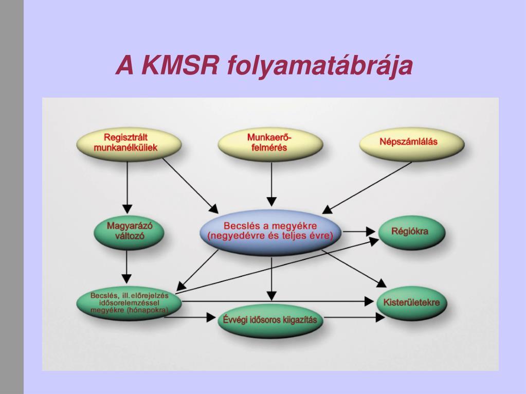 A KMSR folyamatábrája