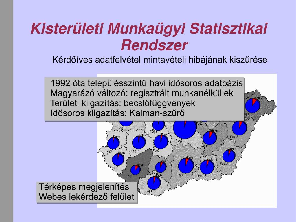 Kisterületi Munkaügyi Statisztikai Rendszer