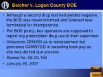 belcher v logan county boe26