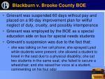blackburn v brooke county boe