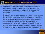blackburn v brooke county boe29