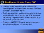 blackburn v brooke county boe30